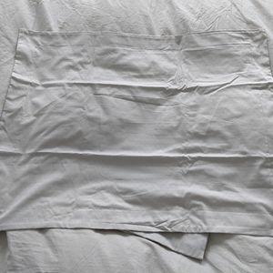 Linen Chest Swiss Dot standard pair of Shams
